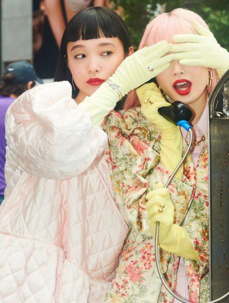 Fernanda Ly & Yuka Mannami Are NYC Girls for Vogue Japan
