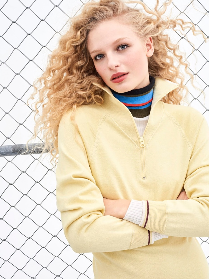 Frederikke Sofie Wears Sporty Chic Looks in PORTER Edit