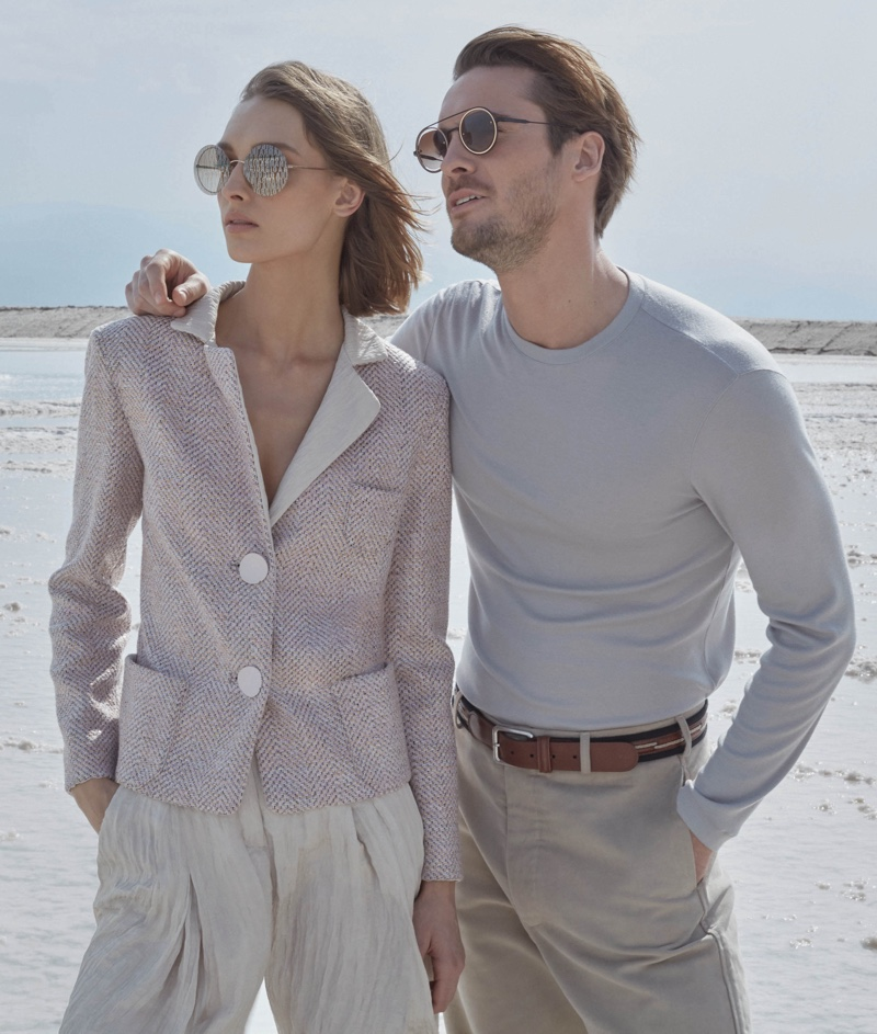 An image from the Giorgio Armani spring 2019 advertising campaign