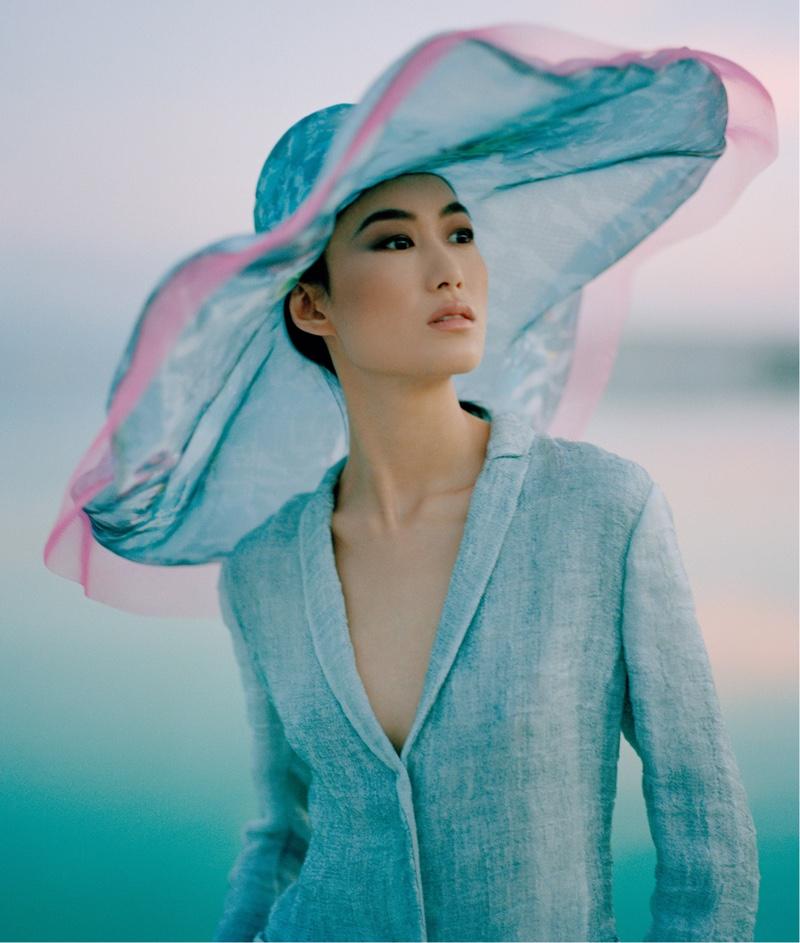 Shu Pei stars in Giorgio Armani spring-summer 2019 campaign
