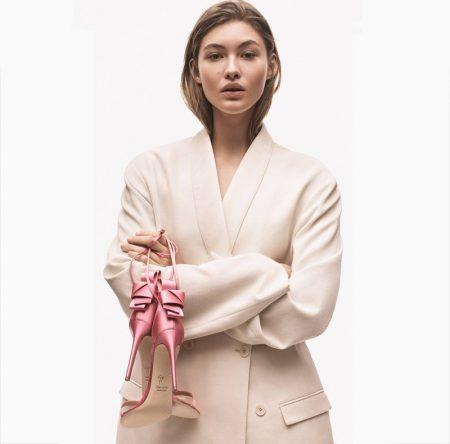Grace Elizabeth stars in Giuseppe Zanotti spring-summer 2019 campaign