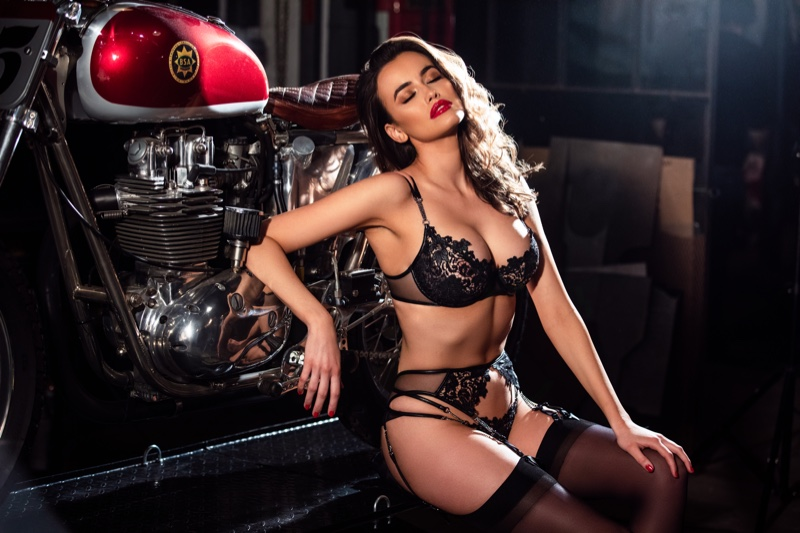 An image from the Honey Birdette Valentine's Day 2019 campaign