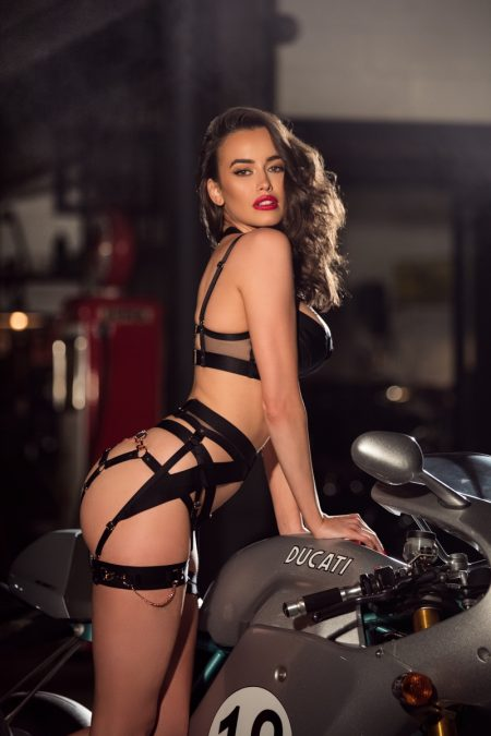 Sarah Stephens is Red-Hot in Honey Birdette Valentine's Day Campaign