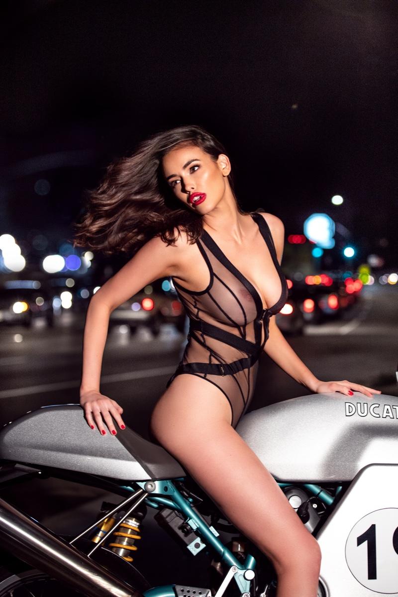 Honey Birdette features Vienna bodysuit in #NotYourValentine campaign