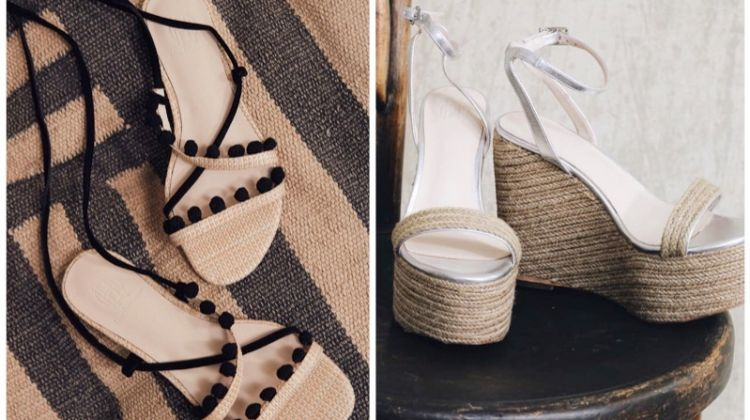 House of Harlow 1960 spring sandals