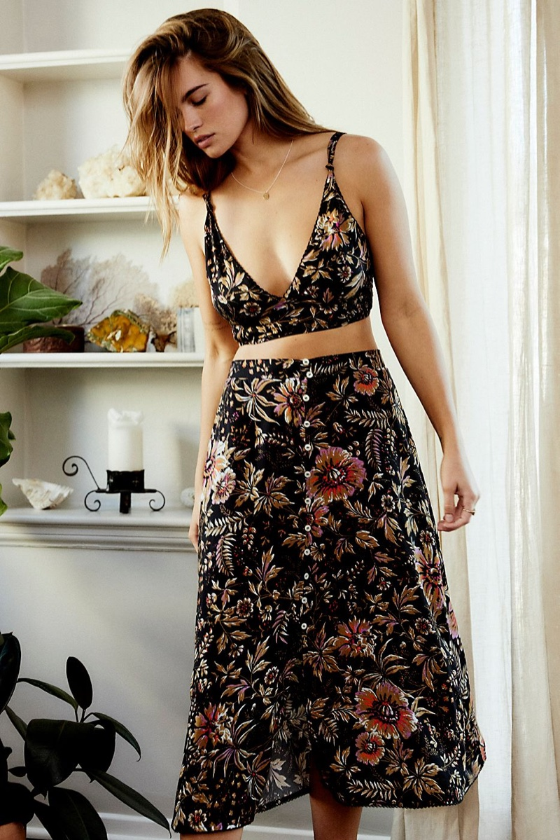Intimately Free People Allyson Printed Set $98