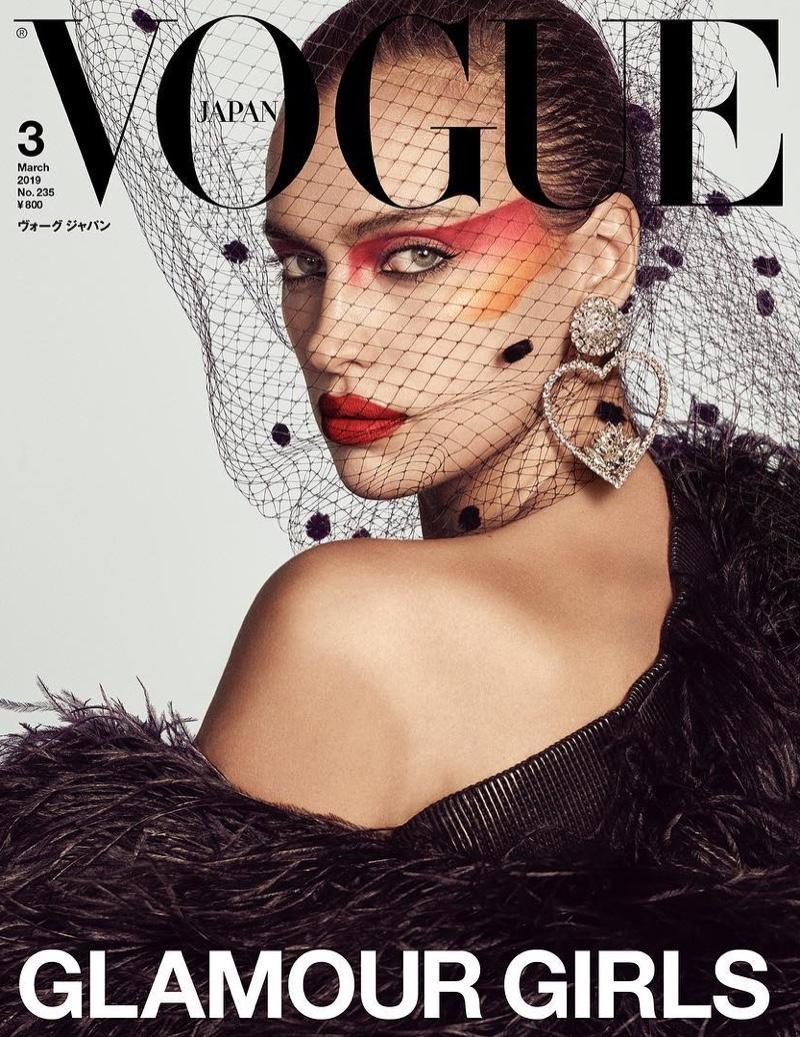 Irina Shayk on Vogue Japan March 2019 Cover