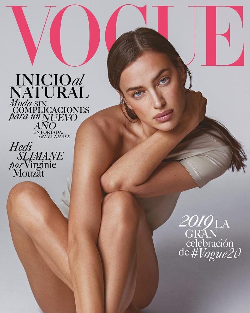 Irina Shayk on Vogue Mexico January 2019 Cover