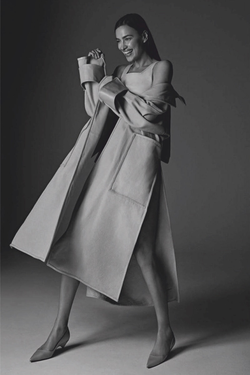 Irina Shayk Vogue Mexico 2019 Cover Fashion Shoot