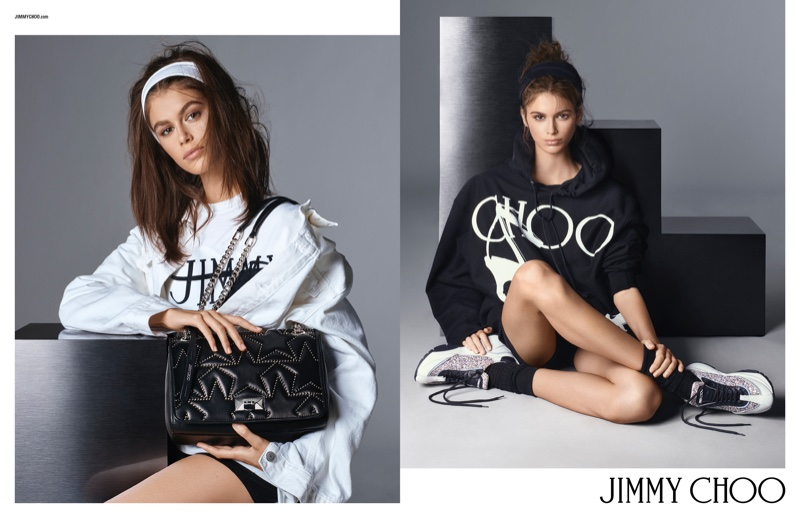 Kaia Gerber stars in Jimmy Choo spring-summer 2019 campaign