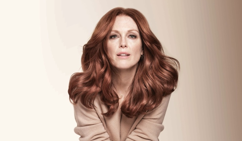 Julianne Moore fronts L'Oreal Paris Superior Preference Hair Color campaign