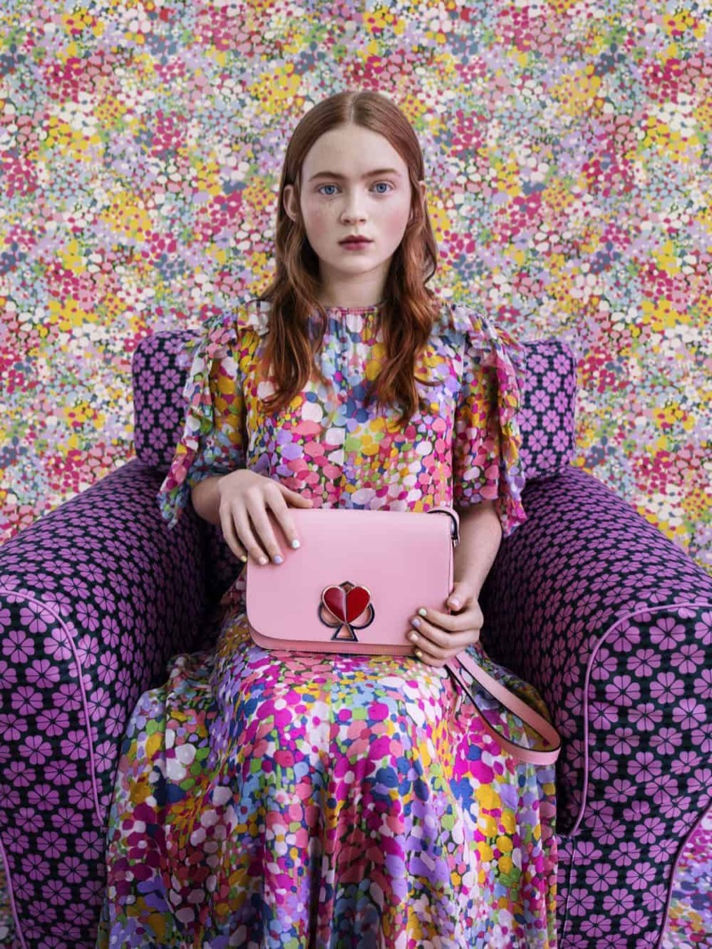 Sadie Sink stars in Kate Spade spring-summer 2019 campaign