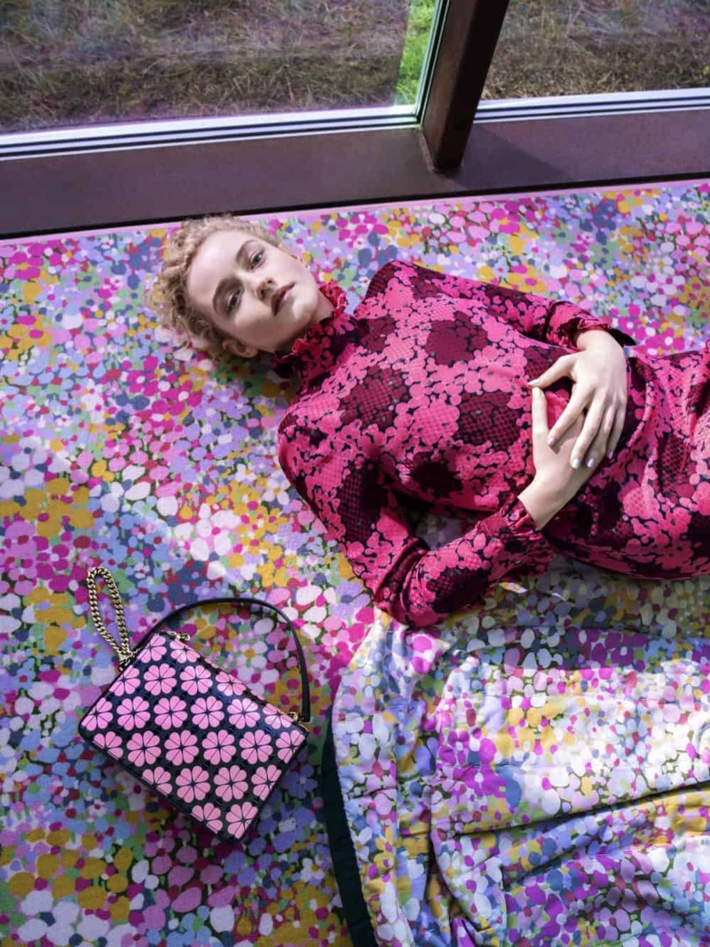 Julia Garner appears in Kate Spade spring-summer 2019 campaign