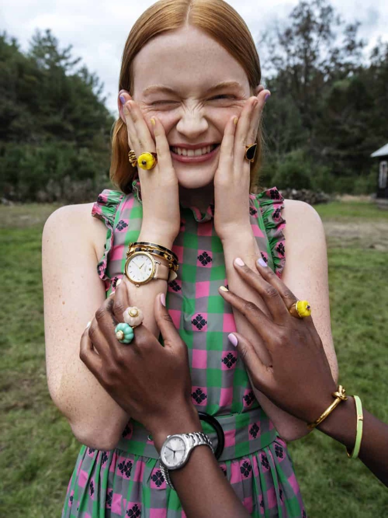 Kate Spade focuses on jewelry with its spring-summer 2019 campaign
