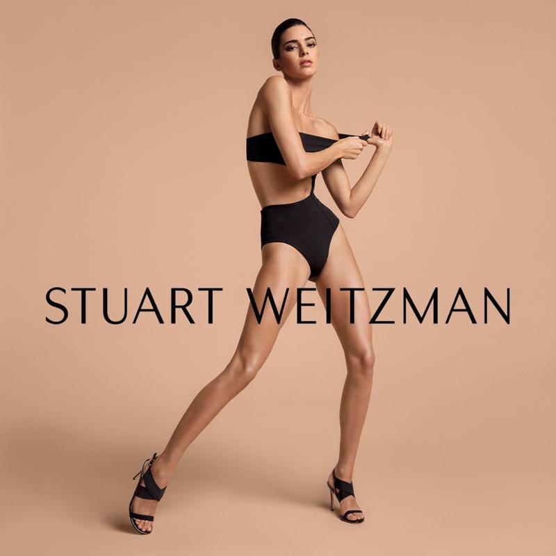 Kendall Jenner stars in Stuart Weitzman spring-summer 2019 campaign