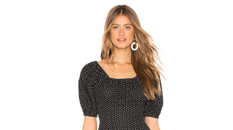 L'Academie Andrea Mini Dress $208