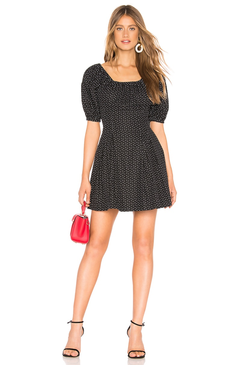 L'Academie Andrea Mini Dress $208
