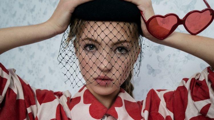 Lila Moss Models Retro Inspired Style for Dazed Magazine