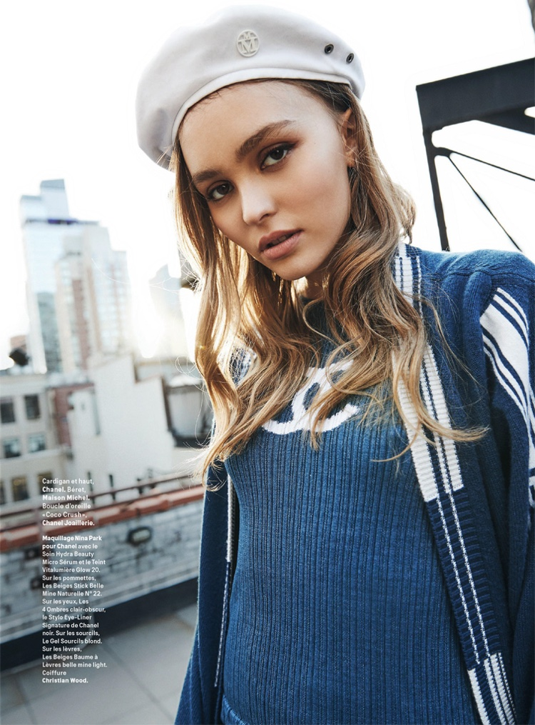 Lily-Rose Depp Graces the Pages of Grazia France