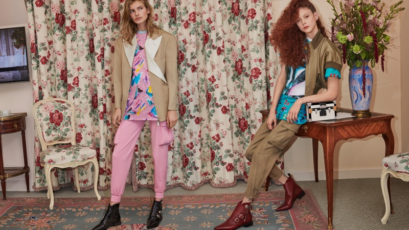 Signe Veiteberg and Natalie Westling front Louis Vuitton spring-summer 2019 campaign