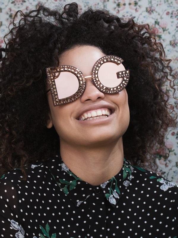 Dolce & Gabbana DG Crystals Embellished Sunglasses $1,286