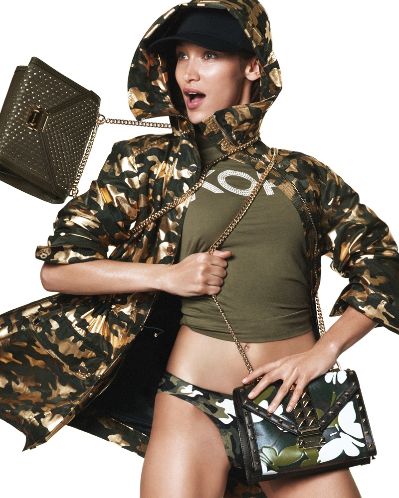 MICHAEL Michael Kors taps Bella Hadid for spring 2019 advertising campaign