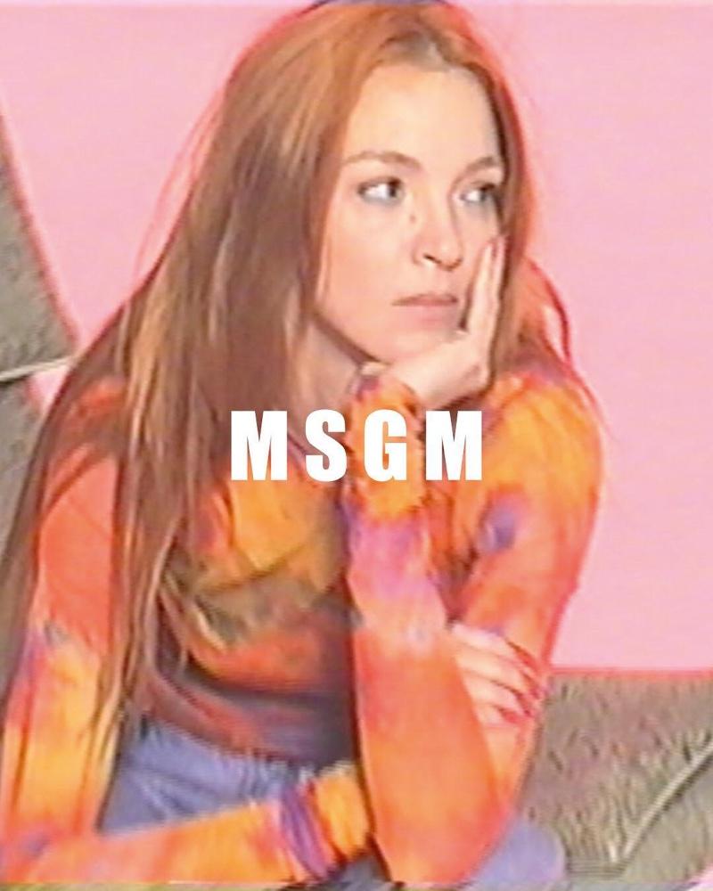 Mariacarla Boscono stars in MSGM spring-summer 2019 campaign