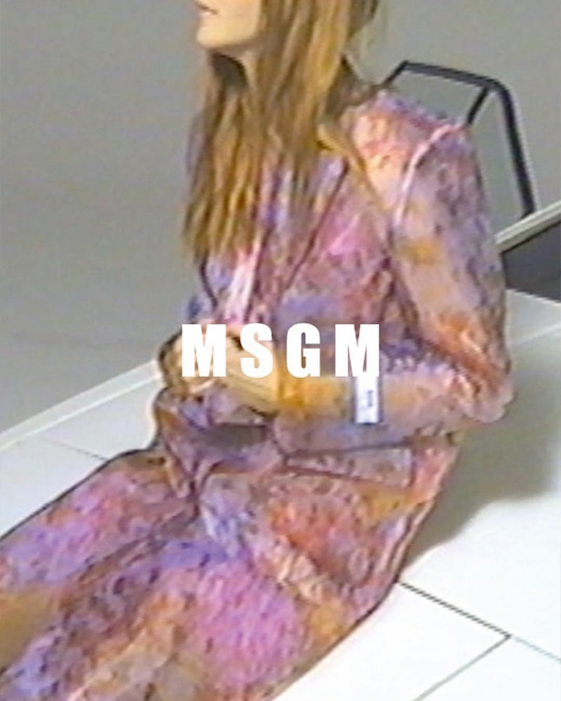 MSGM captures its spring 2019 campaign on film