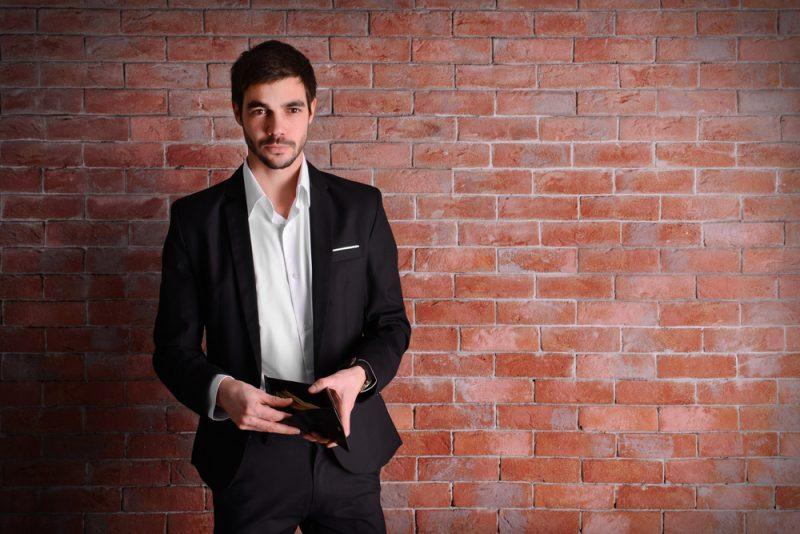 Man Suit Wallet