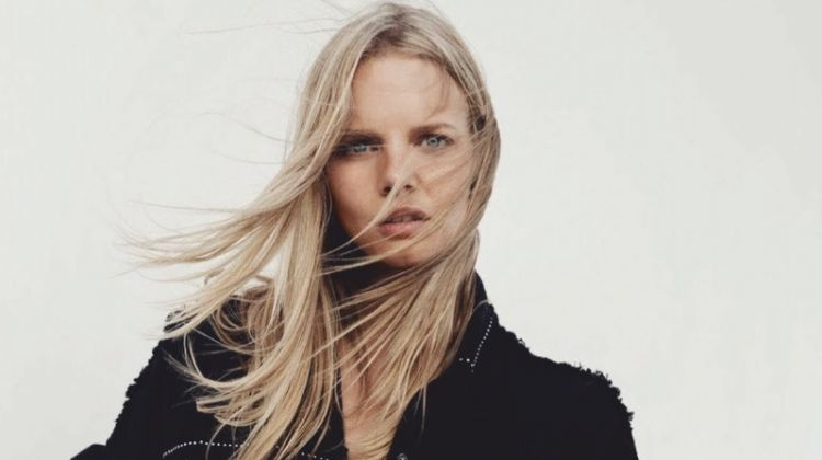 Marloes Horst Channels Western Vibes for ELLE Australia