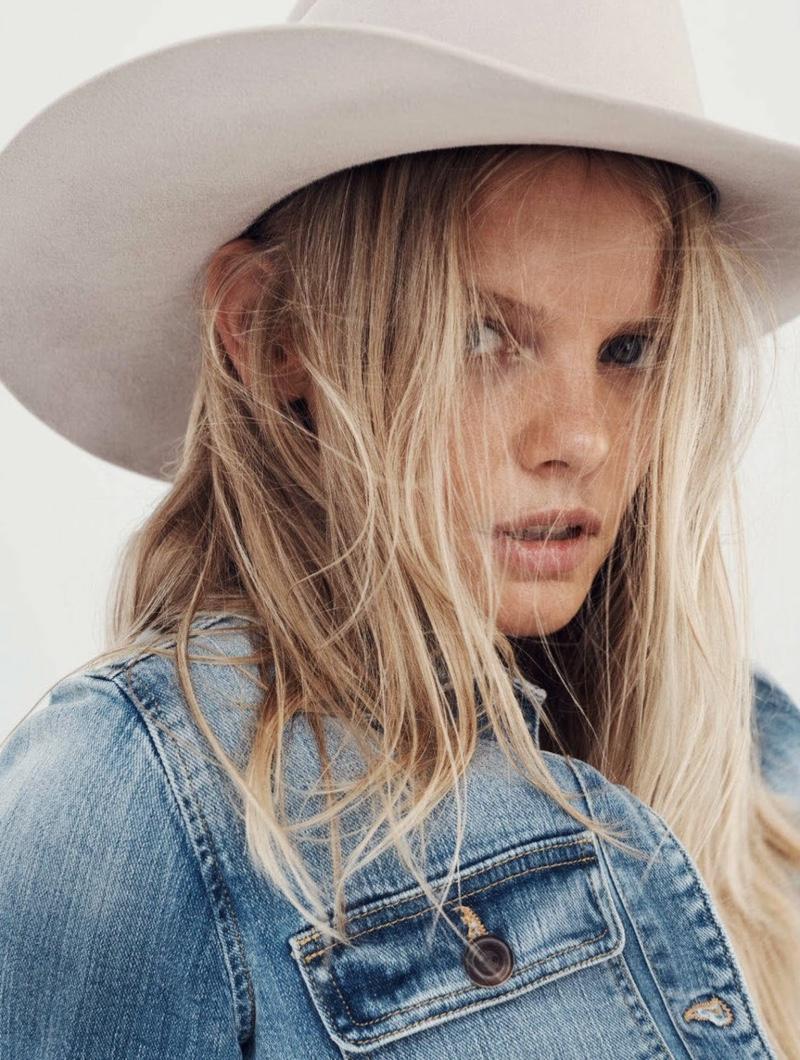 Marloes Horst Channels Western Vibes for ELLE Australia