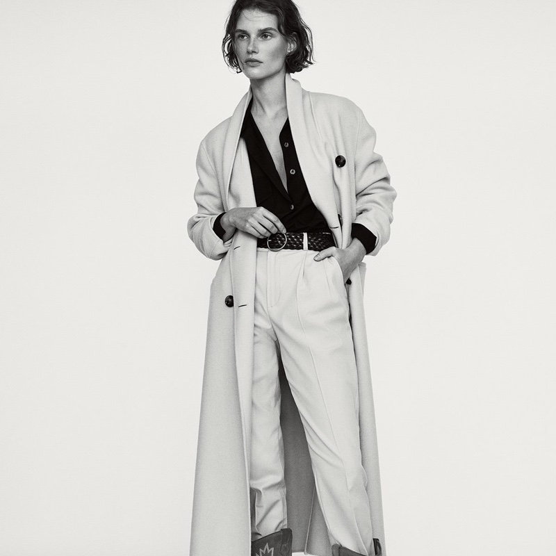 Massimo Dutti spotlights masculine inspired styles for La Force D'un Look editorial