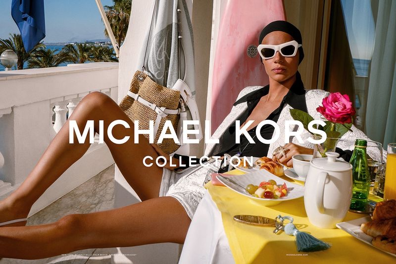 Binx Walton Relaxes in Michael Kors Spring 2019 Campaign