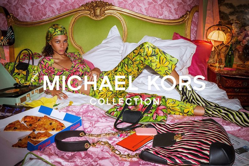 An image from the Michael Kors spring 2019 advertising campaign