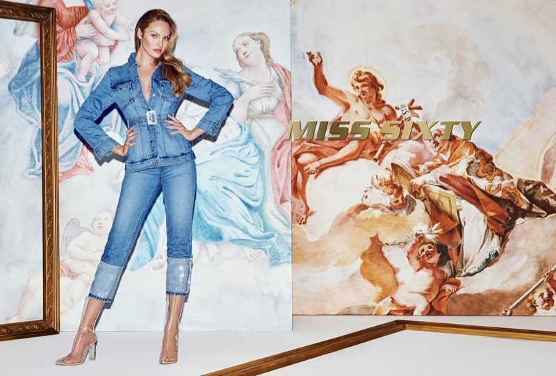 Candice Swanepoel stars in Miss Sixty spring-summer 2019 campaign
