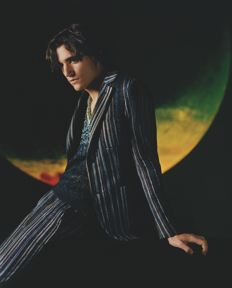 Missoni enlists singer Tamino for spring-summer 2019 campaign