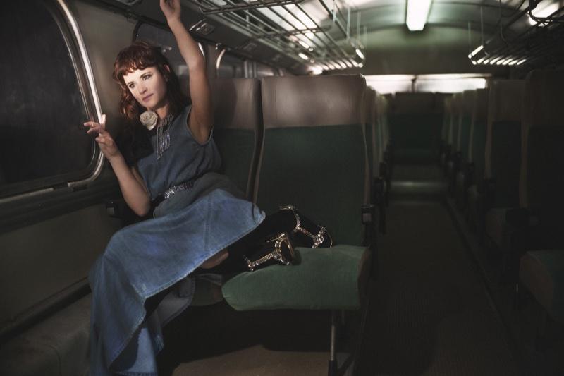 Juliette Lewis stars in Miu Miu spring-summer 2019 campaign