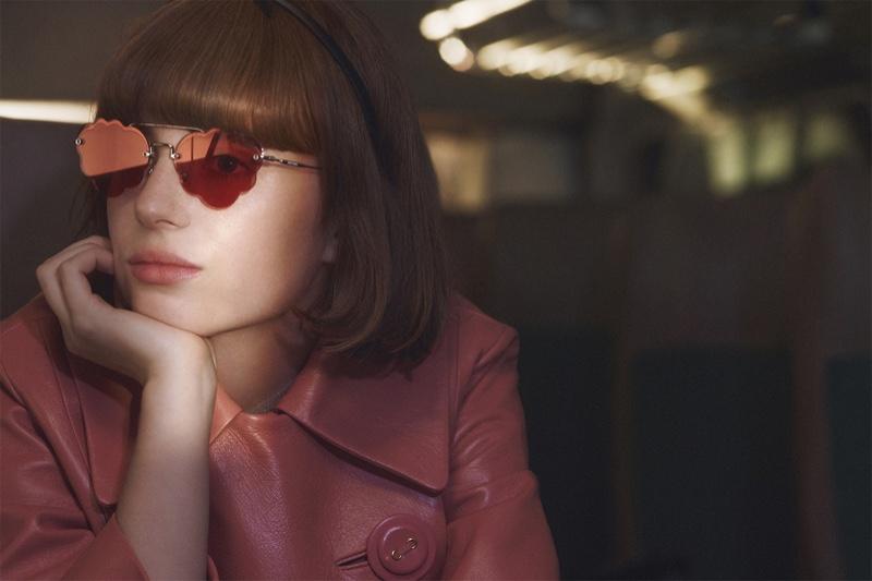 Maya Hawke stars in Miu Miu spring-summer 2019 campaign