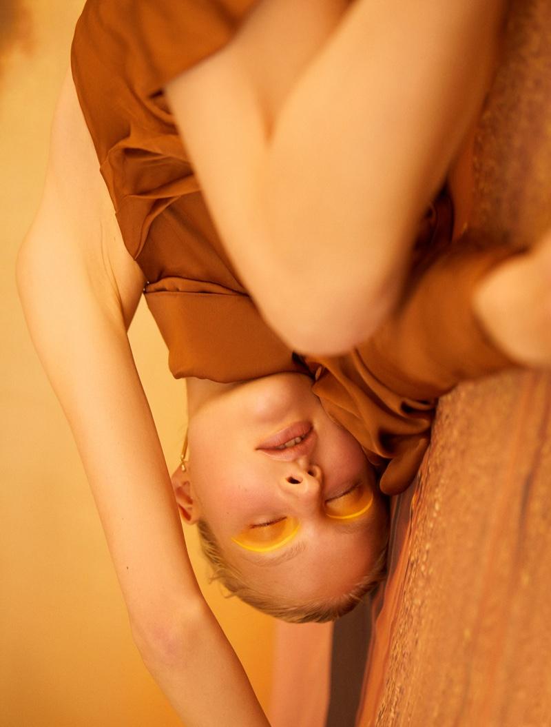 Nana Skovgaard Poses in Dreamy Looks for L'Officiel Thailand
