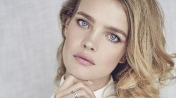 Natalia Vodianova Poses in Elegant Looks for Marie Claire Russia