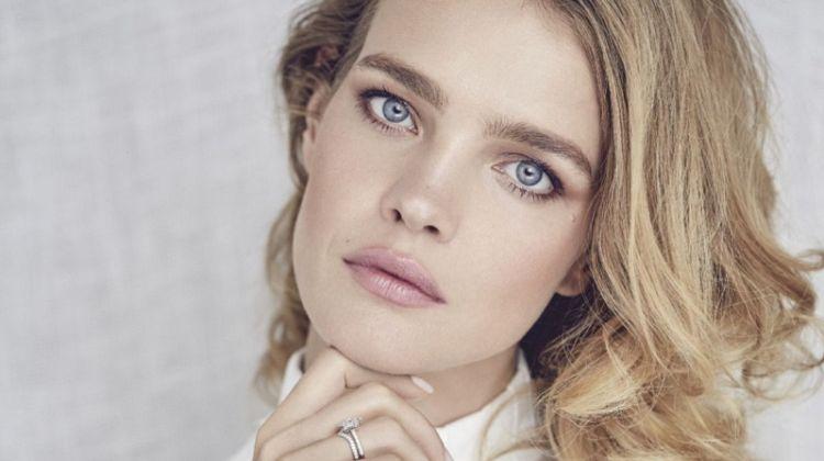 Natalia Vodianova Poses in Elegant Looks for Marie Claire Russia