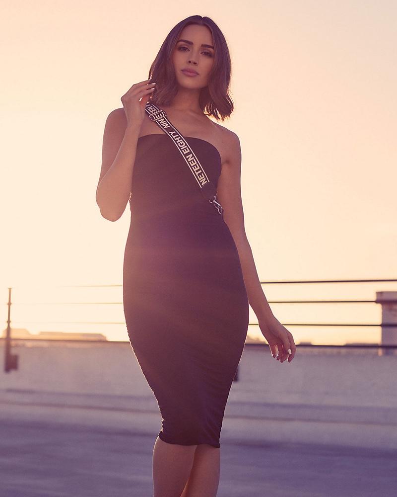 Express x Olivia Culpo Sheath Tube Dress $78