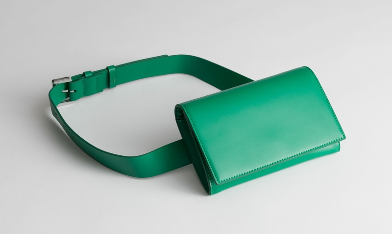 & Other Stories Belt Bag in Green $59