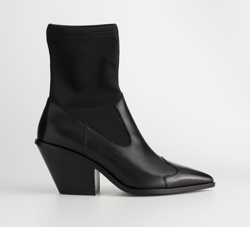 & Other Stories Cowboy Sock Boots $179