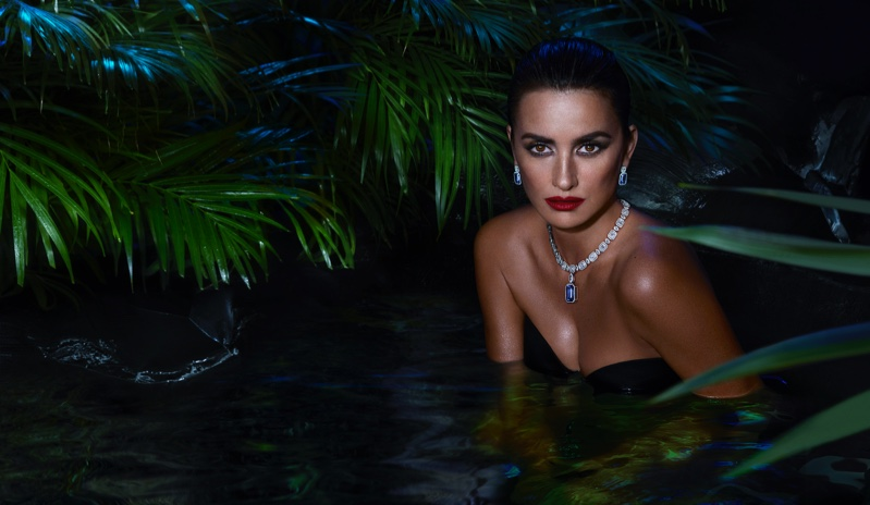 Penelope Cruz stars in Atelier Swarovski Fine Jewelry campaign