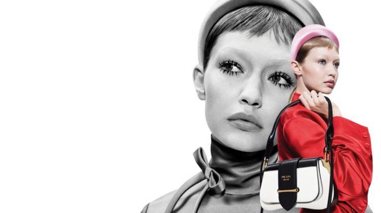 Gigi Hadid stars in Prada spring-summer 2019 campaign