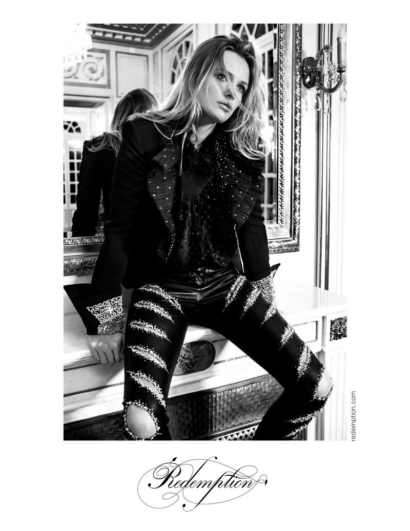 Model Edita Vilkeviciute appears in Redemption spring-summer 2019 campaign