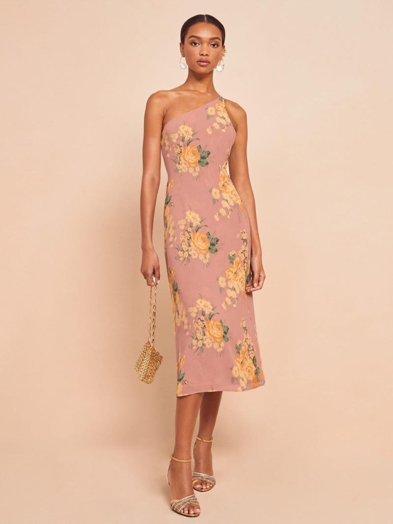Reformation Eastside Dress in Gwenyth $248