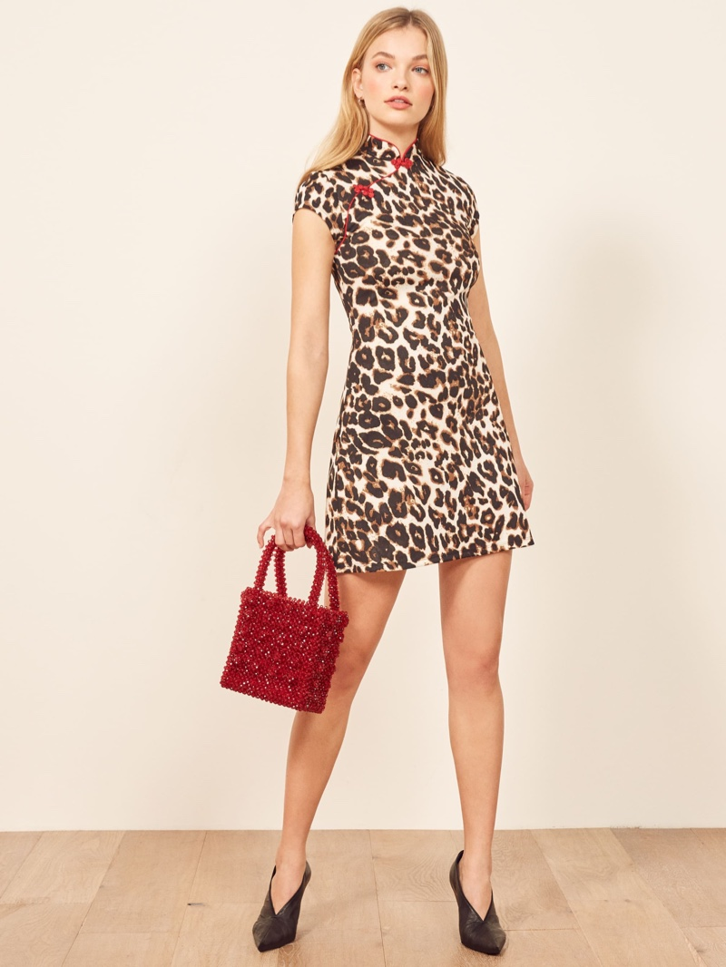 Reformation May Dress in Zima $128