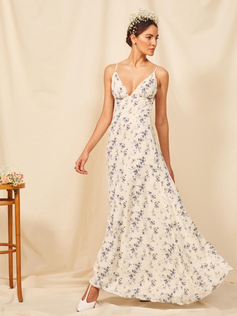 Reformation Modena Dress in Madeline $388